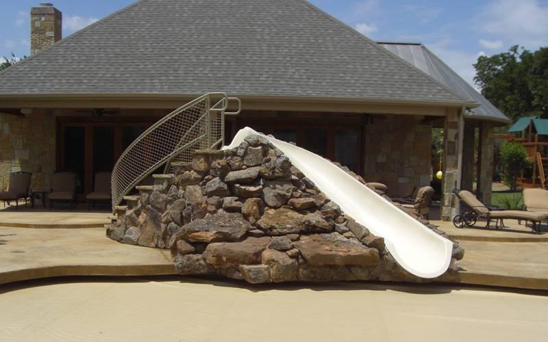Custom Portable Pool Slides Amp Fiberglass Residential Water