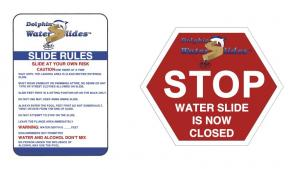 Slide Rules and Slide Closed Signs